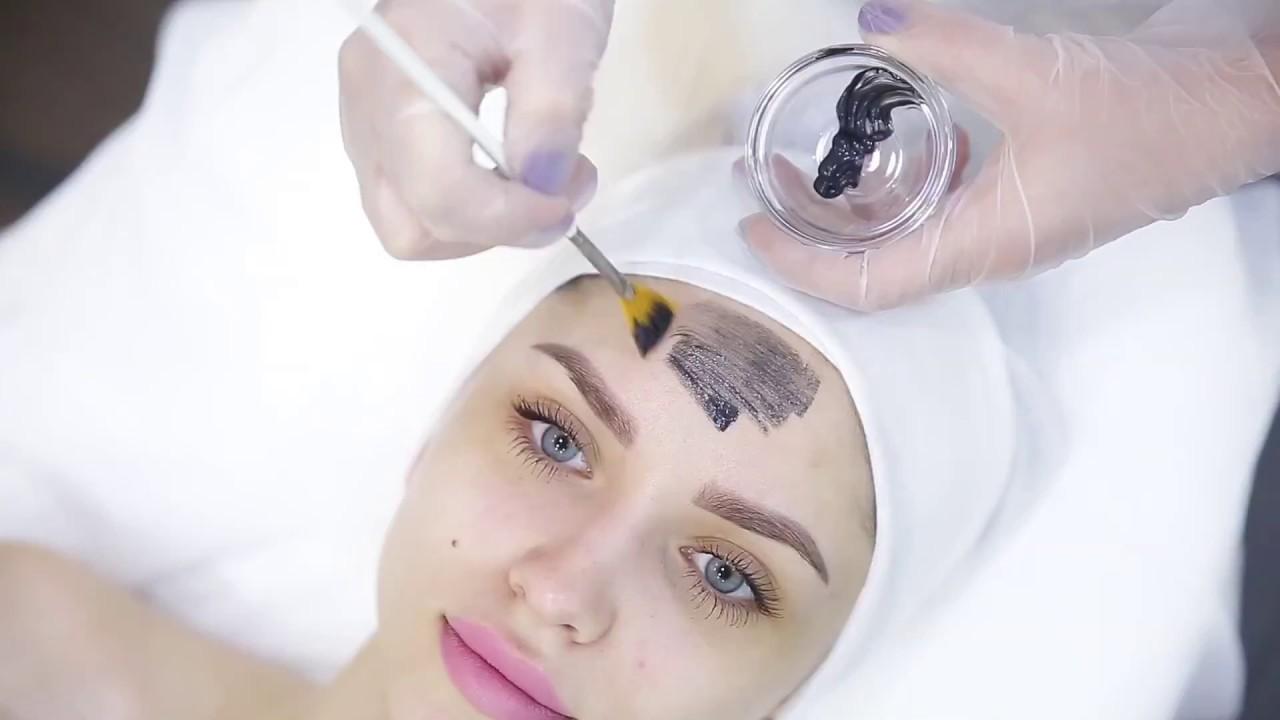 Лазерный карбоновый пилинг лица Coolaser clinic