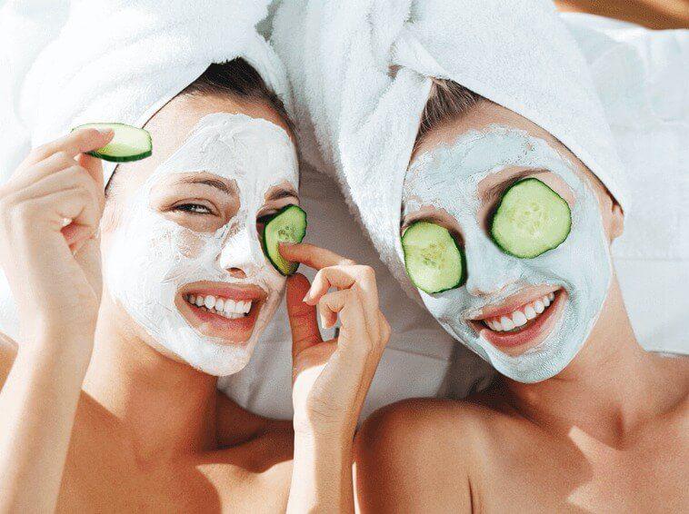 Почему кожа стареет. Фото косметологических масок
