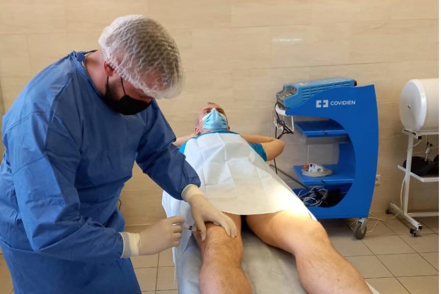 Лечение артроза коленного сустава стволовыми клетками в Киеве