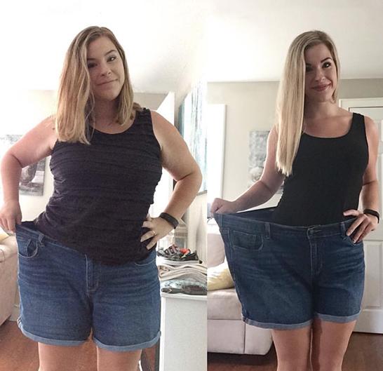 Уменьшение веса До и После